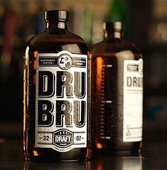 DRU BRU Awesome Beer Label Designs