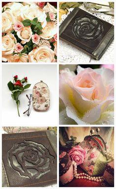 """Кое-что красивое рукодельное. Сумочка с розами, чехол для очков, клатч сумочка на молнии с розой. Про все рассказываю в своем блоге """"Бобровая хатка"""". Заходите в гости!"""