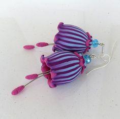 Bell Earrings Polymer Clay Tutorilal