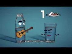 8 VASOS AL DIA UN EXCELENTE MUSICA & VIDEO Que buen video, hay que aplic...