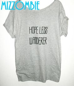 Mumford & Sons Inspired HOPELESS WANDERER off the by Mizzombie, $20.00