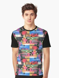 """Pixled 2"" Graphic T-Shirt By wowarts 