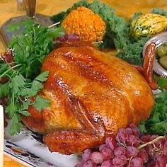 Turkey Brined and Roasted