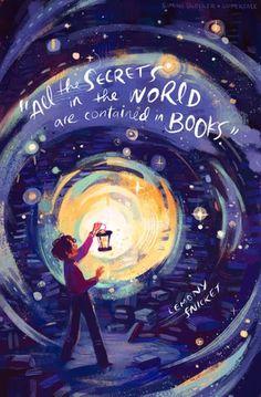 Todos los secretos del mundo están contenidos en los libros♥