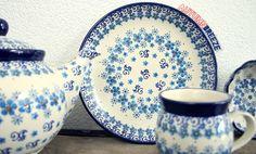 Earthenware, Stoneware, Polish Pottery, Beautiful Hands, Breeze, Poland, Castle, Hand Painted, Plates
