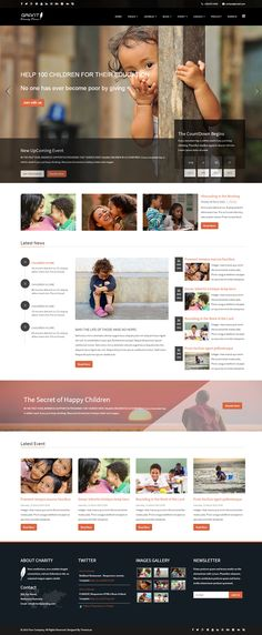 Grant - Charity \/ Nonprofit \/ NGO HTML5 Template Kid, 17 and - ngo templates