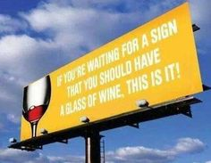 :) Cool Wine Sign