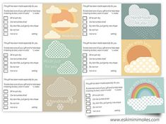 Free To Download Gift Tags With Care Instructions For Knitting, Crochet And Sewing   Eskimimi Makes
