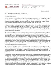 Shadowing Letter Of Recommendation Sample - 30 Shadowing Letter Of Recommendation Sample , Jake Wiersema Letter Of Re Mendation Medical School Reference Letter For Student, Reference Letter Template, Cover Letter Template, Letter Templates, Pa School, Medical School, School Notes, School Tips, Shadowing Letters