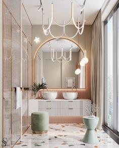 Bathroom Design Inspiration, Design Ideas, Bathroom Design Luxury, Luxury Bathrooms, Home Room Design, Modern Interior Design, Interior Decorating, Decorating Ideas, Decor Ideas