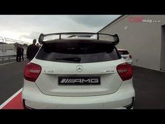 Mercedes Benz A45 AMG driven