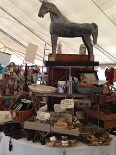 Brimfield Flea Market, Fleas, Marketing