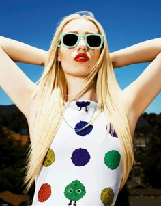 Rapper Iggy Azealea for House of Holland Eyewear Iggy Azalea Songs 390ca21a329ea