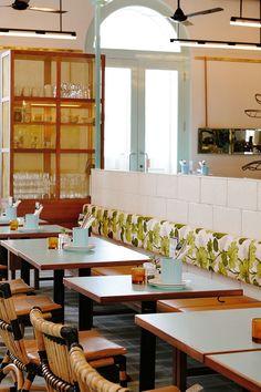 Un restaurante que juega a los contrastes - Ebom
