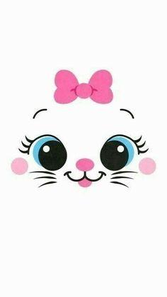 41 Ideas For Cats Cute Wallpaper Kawaii Kitty Wallpaper, Cartoon Wallpaper, Iphone Wallpaper Kawaii, Disney Wallpaper, Mobile Wallpaper, Tangled Wallpaper, Aztec Wallpaper, Room Wallpaper, Pink Wallpaper
