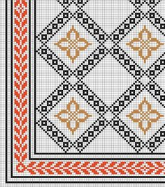 Couture Embroidery, Embroidery Stitches, Cross Stitch Cushion, Palestinian Embroidery, Needlepoint Patterns, Crochet Tablecloth, Modern Cross Stitch Patterns, Bargello, Hobbies And Crafts