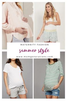 87dc5919a6c80 Maternity Shorts for Summer - Mom Generations | Audrey McClelland | Stylish  Life for Moms