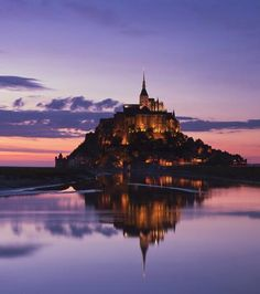 The Best Vacation Destinations In France – Travel In France Best Vacation Destinations, Vacation Spots, Beautiful Places In The World, Wonderful Places, Places To Travel, Places To See, Le Mont St Michel, Beautiful Castles, France Travel