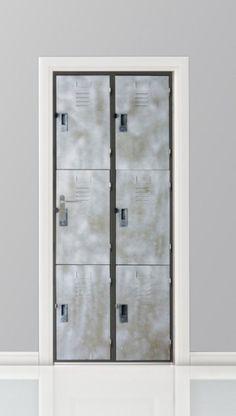 Deursticker - Lockers - Gratis Bezorging - PosterDecoratie.nl