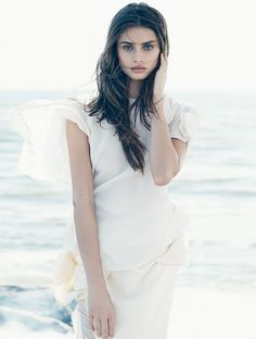 Sea Gull: Taylor Hill by An Le for Numéro Russia October 2015