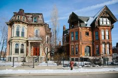 detroit abandoned mansion district web Photograph