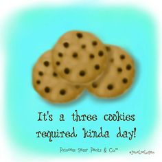 Three cookie day