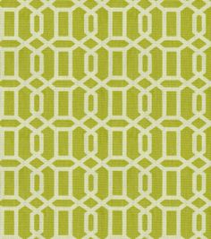 Home Decor Print Fabric-Croscill Felton/Kiwi & Print Fabric at Joann.com