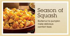 Season of Squash: Roasted Butternut and More recipe collection and recipes