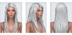 "pixelore: ""  DOWNLOAD: SIMFILESHARE • NEW HAIR MESHES FOR THE SIMS 4 • Base game compatible • Hat compatible • Disabled for random • Custom thumbnails • 18 EA colors • All LODs • DOWNLOAD OPTIONS •..."