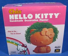 Hello Kitty Chia Pet  NEW / Sealed In Box!