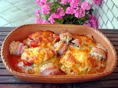 Meat Recipes, Chicken Recipes, Hungarian Recipes, Pressure Cooker Recipes, Steak, Poultry, Cauliflower, Casserole, Bacon