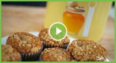 THRIVE Honey Oat Banana Muffins | Find the Amazing THRIVE Instant Milk here @ http://www.liveandthrive.thrivelife.com/milk-powder.html | #FoodStorage | #ShelfReliance | #recipe