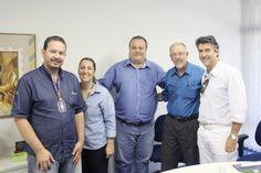 Diretoria do Núcleo de Mangalarga Marchador do TM visita a ABCZ