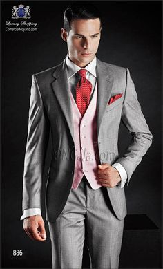Traje de novio gris 886 ONGala Wedding suit