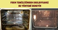 Fırın Pakliğinden Bunaldıysanız Şayet Bir De Bu Usulü Deneyin Home Hacks, Clean House, Cleaning Hacks, Diy And Crafts, Kitchen, Aspirin, Asdf, Wedding, Valentines Day Weddings