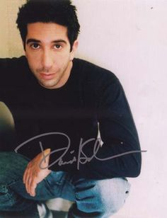 David Schwimmer. I should really just pin a picture of everyone from Friends…