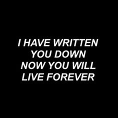 poet // bastille  (I tried not to because I didn't you want you to mean that much but I couldn't help it)