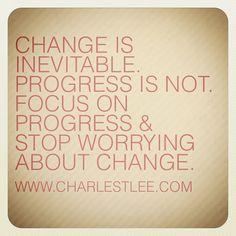 #Change #Progress