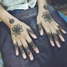 Simple Mandala Party Henna. <3 #hennabella