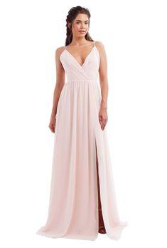 0ee089f4d6 Monique Lhuillier Kelsea. Slate Blue Bridesmaid DressesDesigner ...
