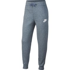 Whether its for class or playing at recess, these Nike girls' athletic pants provide soft, comfortable coverage with a stylish design. Nike Sweatpants Girls, Nike Joggers, Fleece Joggers, Girls Pants, Jogger Pants, Athletic Pants, Athletic Outfits, Joggers Outfit, Nikes Girl