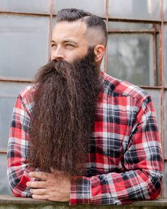 Big Beard, Beard Head, Long Beard Styles, Best Beard Styles, Grey Beards, Long Beards, Beard Lover, Awesome Beards, Bearded Men