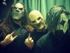 Mick Thomson, Corey Taylor & James Root (Slipknot)