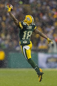 The Green Bay Packers will be looking for Randall Cobb to step up his game and become more of a go-to guy in Green Bay Packers Fans, Nfl Green Bay, Green Bay Football, Packers Baby, Go Packers, Packers Football, Football Team, Greenbay Packers, Football Memes