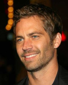 Paul Walker short haircut
