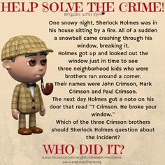 ESL, EFL, ESL activity, Solve the crime, warm-up, warm-up activity