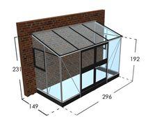 Juliana Veranda aluminium drivhus - 12 års Garanti & Fri levering - Willab Garden