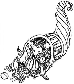 Free Image on Pixabay - Abundance, Cornucopia, For Use Thanksgiving Cornucopia, Thanksgiving Centerpieces, Thanksgiving Holiday, Dark Fantasy Art, Portal Tattoo, Coloring Pages For Kids, Adult Coloring, Coloring Book, Anime Saint
