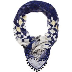 Mimco The Stardust Scarf ($73) ❤ liked on Polyvore