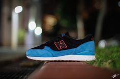 """new balance 496 - only in soho custom"" #newbalance #saucony #footpatrol #onlyinsoho #custom #sneaker #sneakercustom"